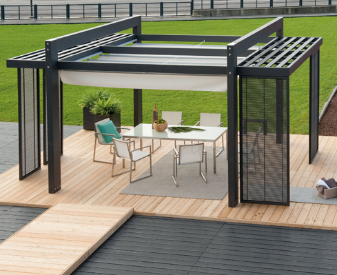 arredi per esterno pircher - finestre, serramenti, porte e infissi ... - Soluzioni Per Esterni Giardini