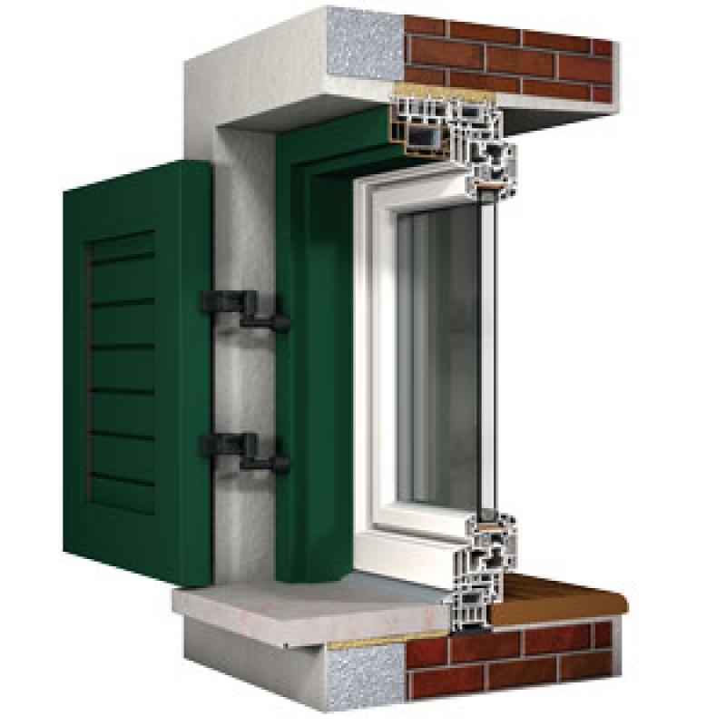 Porte e finestre l 39 importanza di una posa in opera - Aprire finestra muro esterno ...