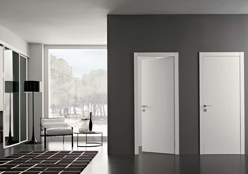 Porta poema garofoli design italiano per una porta - Finestre a specchio ...
