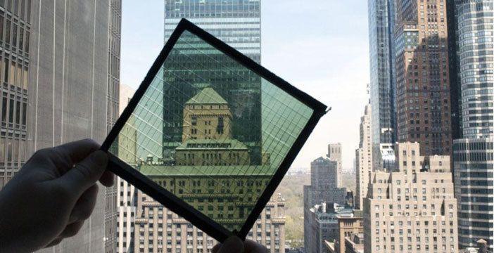 finestre che producono energia