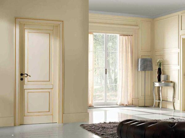 Porte bianche classiche la sobriet e l eleganza vestono tinte chiare - Porte interne bianche ...