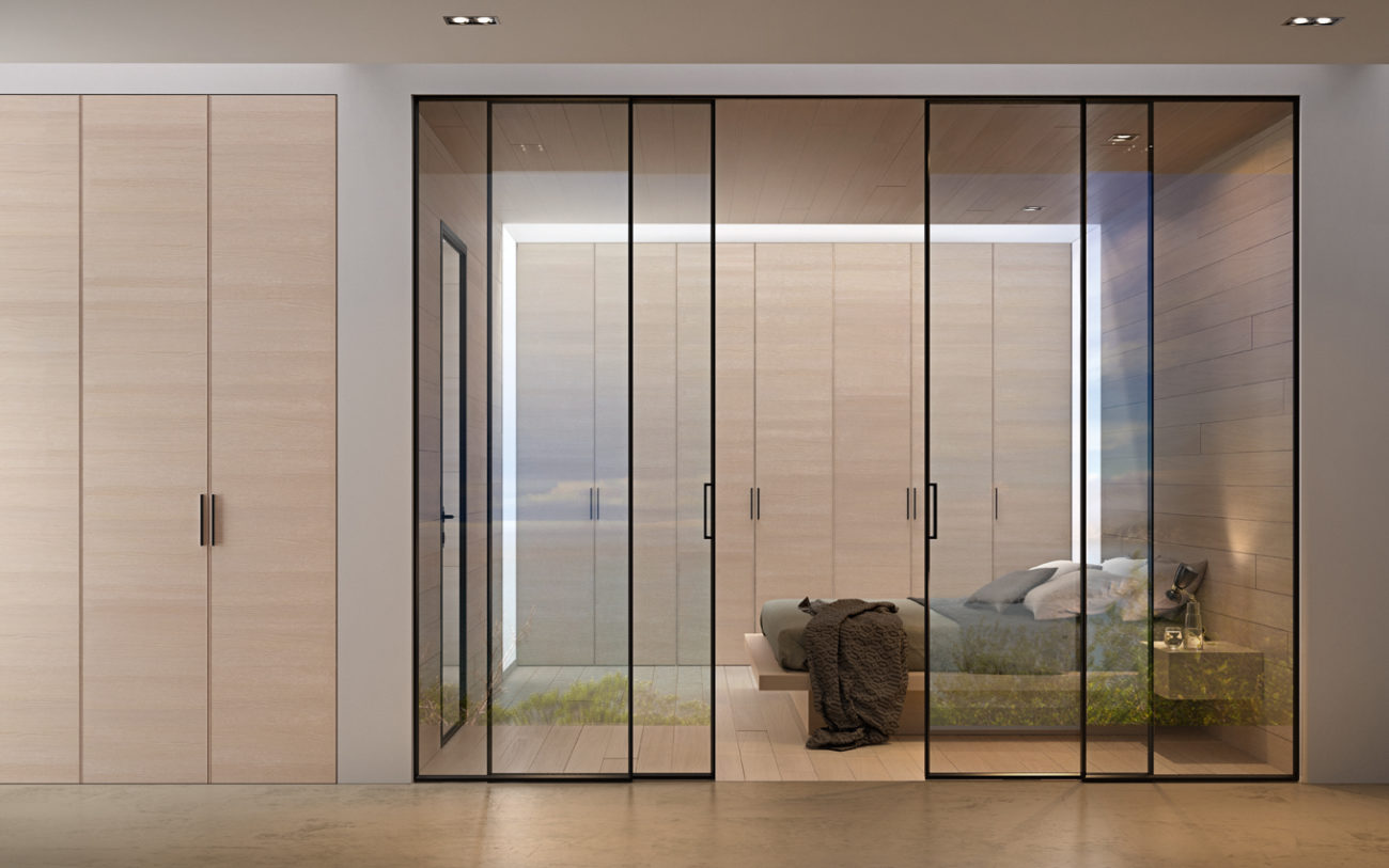 Porte garofoli taranto vetro stile windor porte finestre for Porte scorrevoli in vetro garofoli