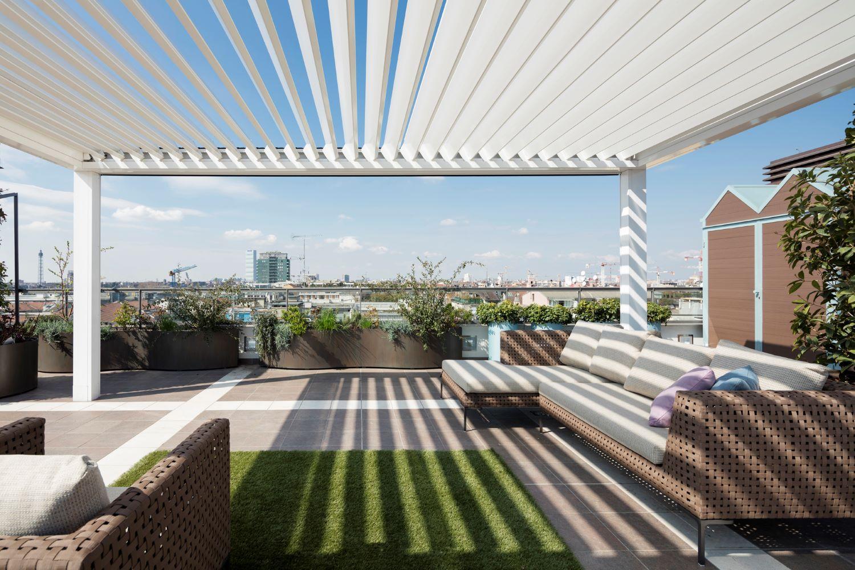 realizzare coperture per terrazzi