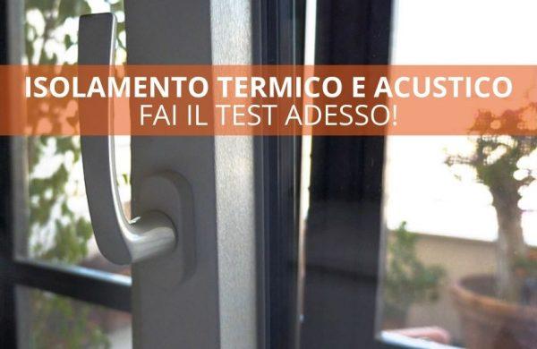 isolamento termico e acustico in casa